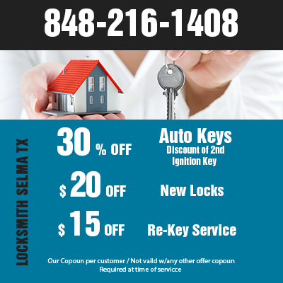 Locksmith Selma TX Coupon